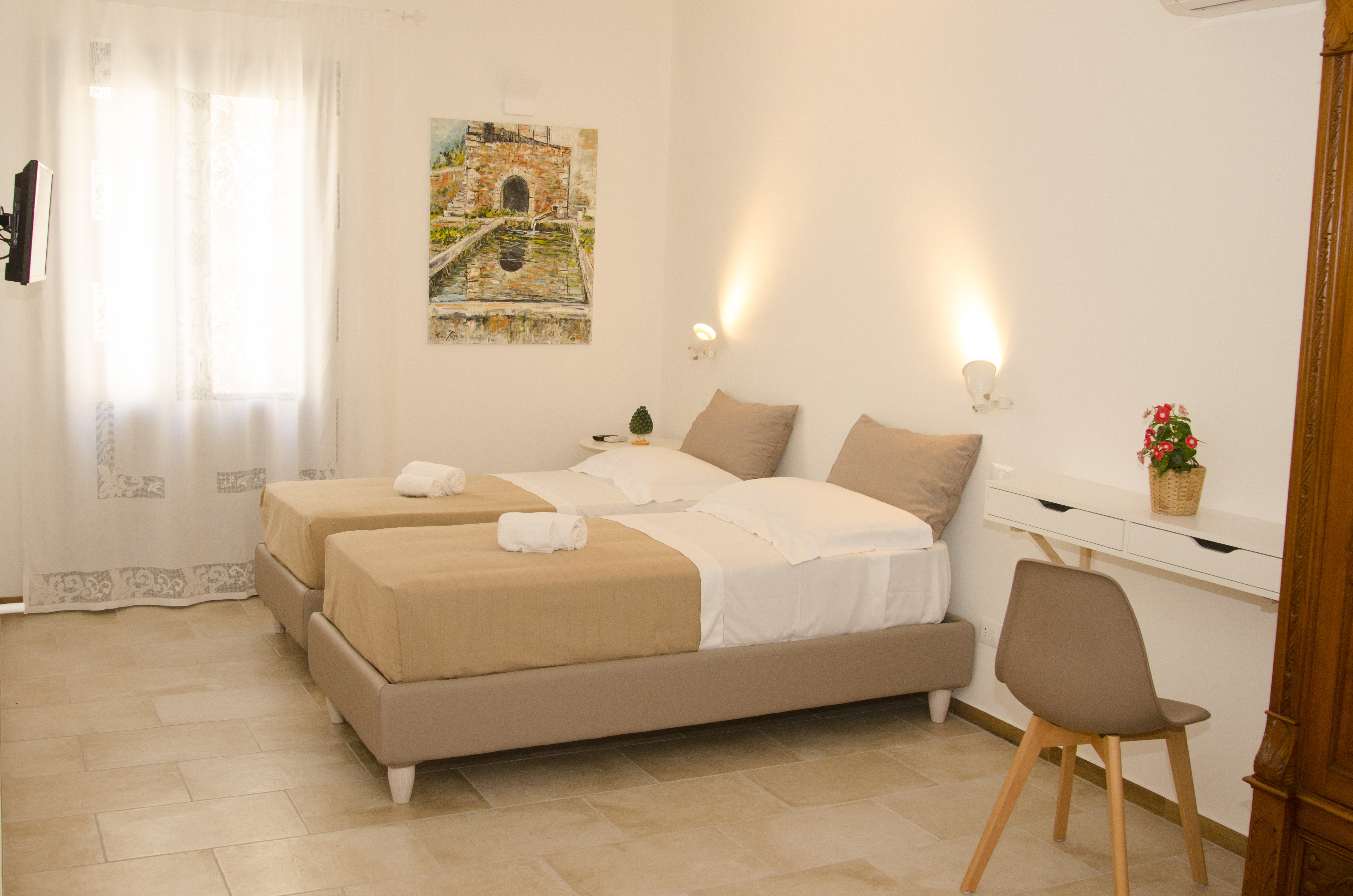 Letto in ferro battuto foto di hotel xenios zeus ouranopoli